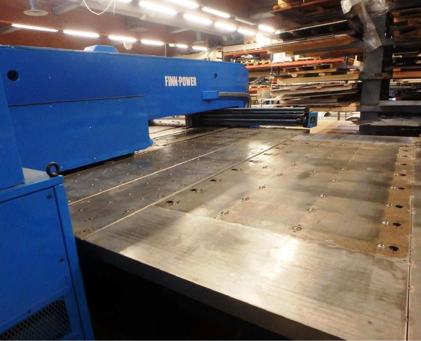 Finnpower TP4030 Turret Punch & tooling
